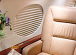 Electrical window shade for Gulfstream 1159/GIV/GV