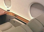 Mechanical window shade for Gulfstream G200